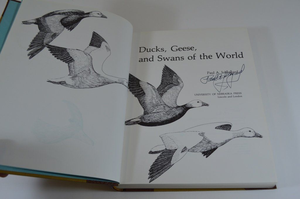 Ducks, Geese & Swans of the World Paul Johnsgard - 2