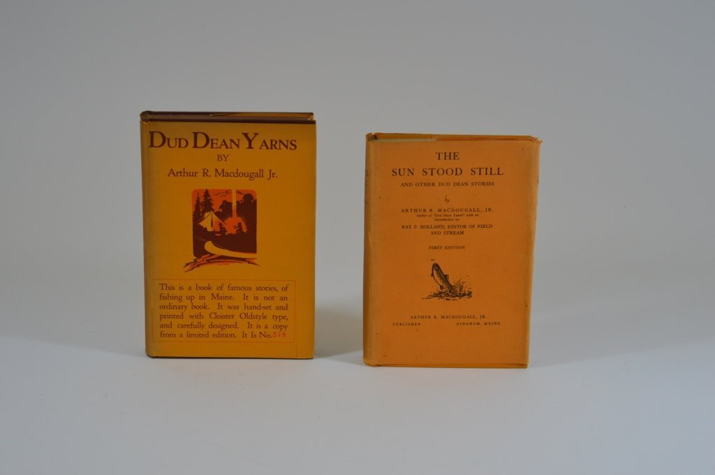 Two Arthur MacDougall Jr. Books