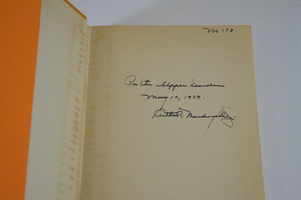 Two Arthur MacDougall Jr. Books - 5
