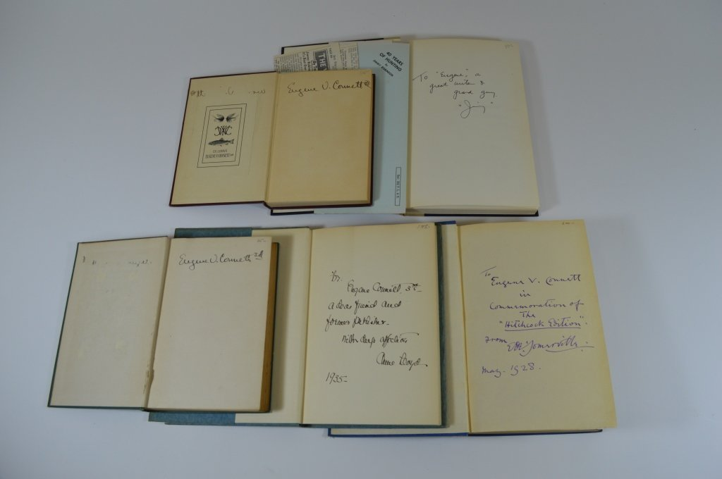 5 Books From Eugene Connett's Library - 2
