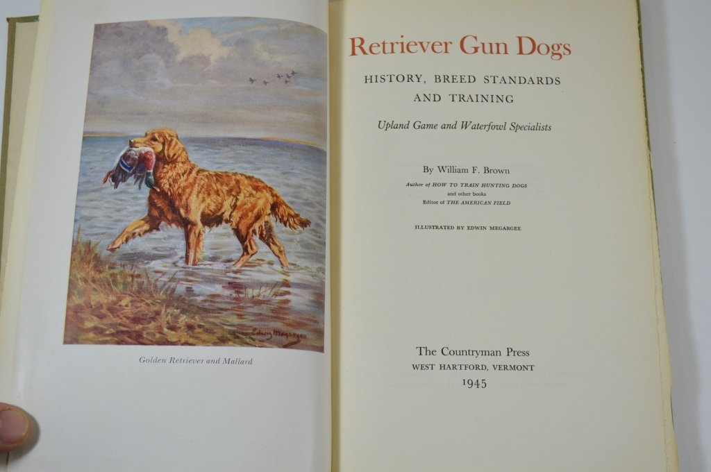 Two Sporting Dog Books - 2