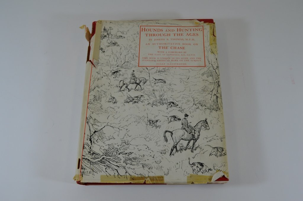 Derrydale Press Book - Hounds and Hunting