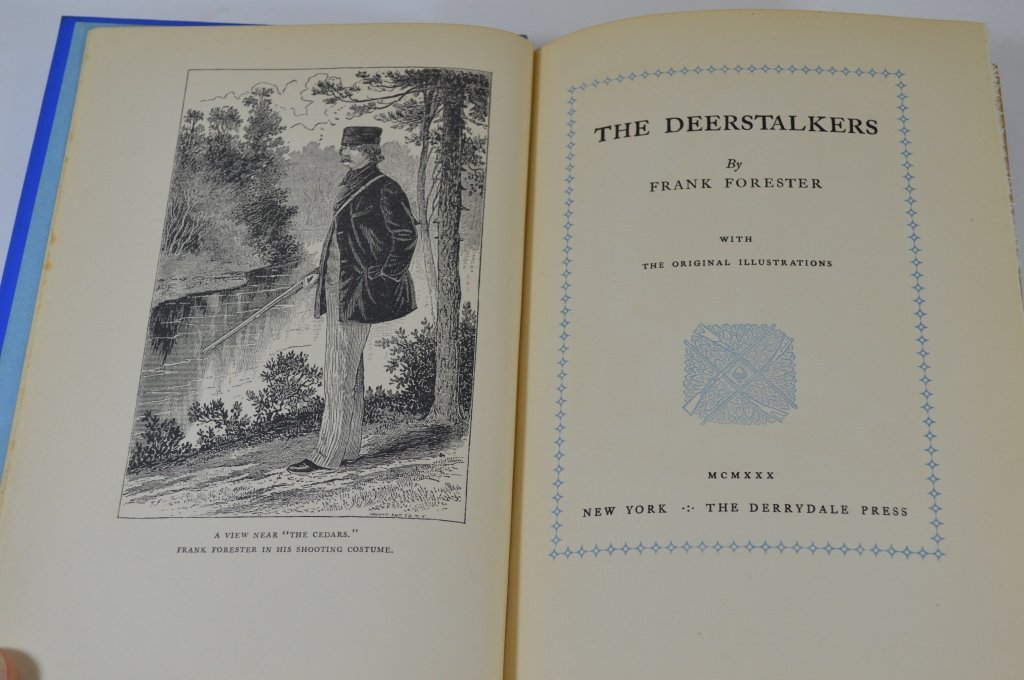 Derrydale Press - Frank Forester Vol. 1 - Vol 4 - 3