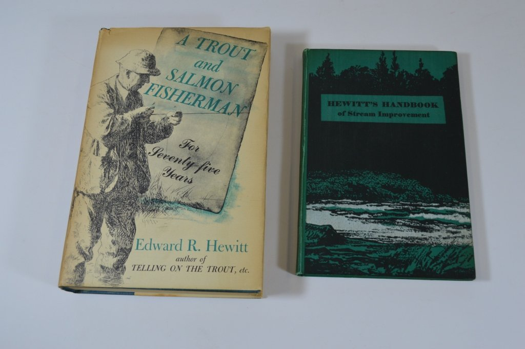 Two Edward Hewitt Fishing Books