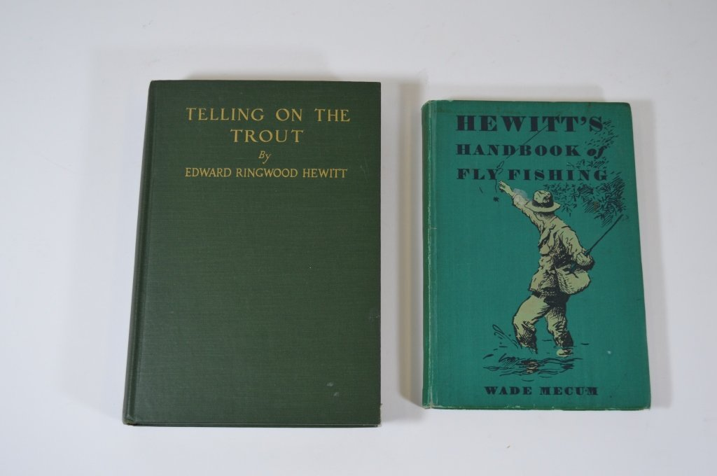 Two Edward Hewitt Fishing Books