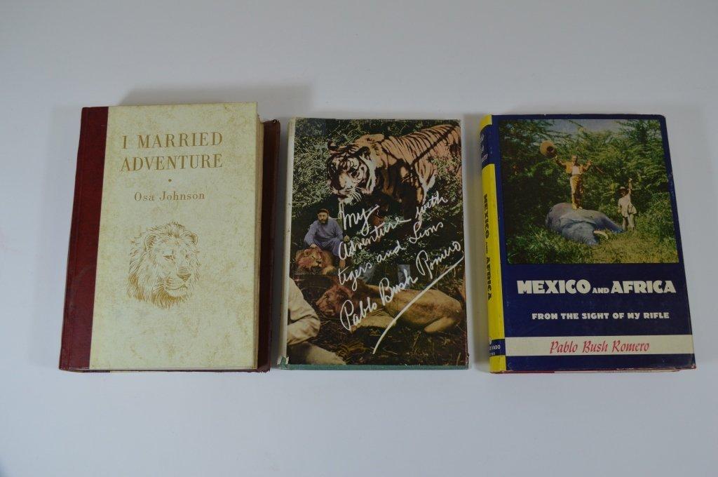 3 African Big Game Books