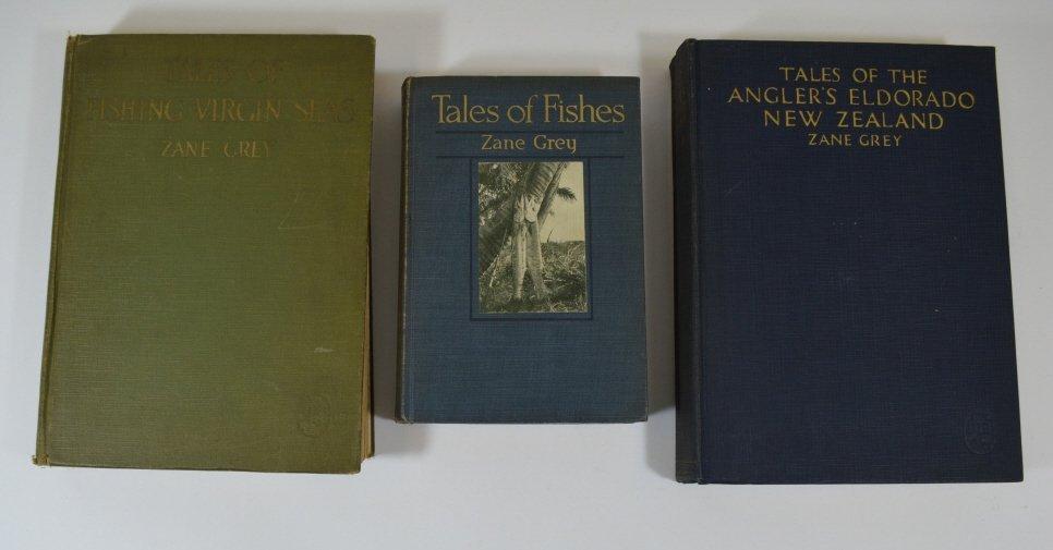 3 Zane Grey Books