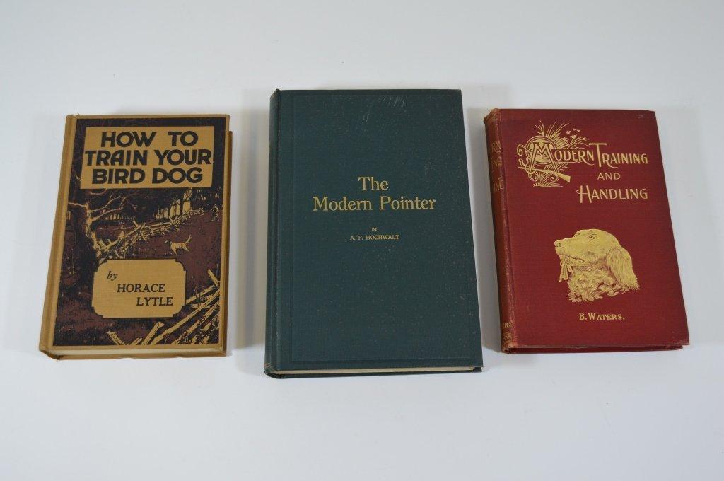 3 Hunting Dog Books