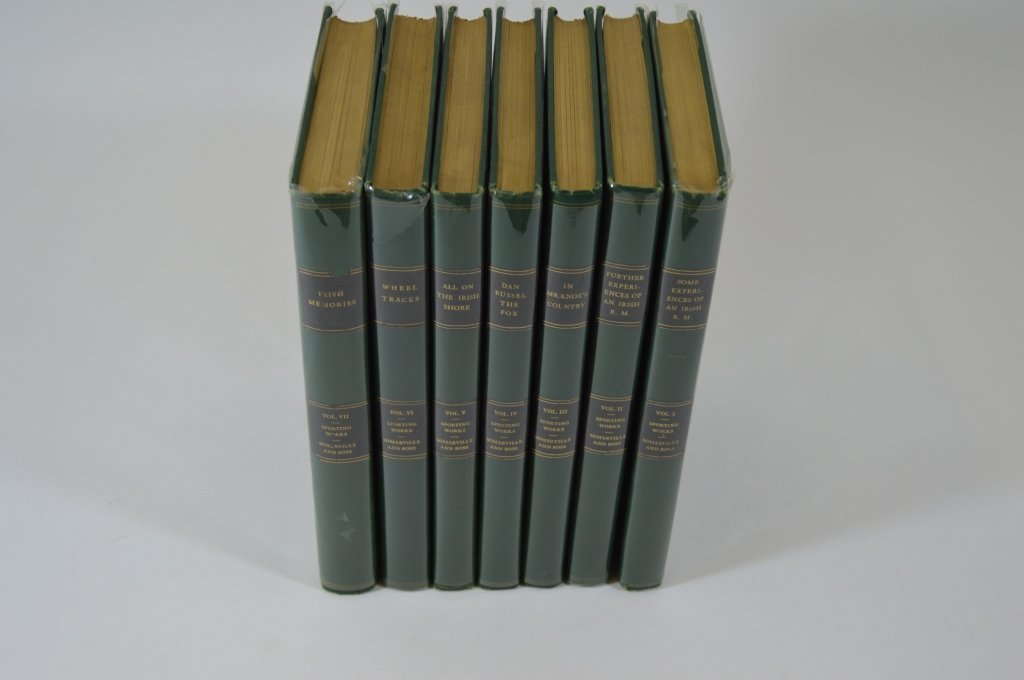Derrydale Press Sporting Works 7 Volume Set