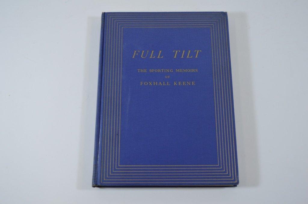 Derrydale Press Book Full Tilt by Alden Hatch