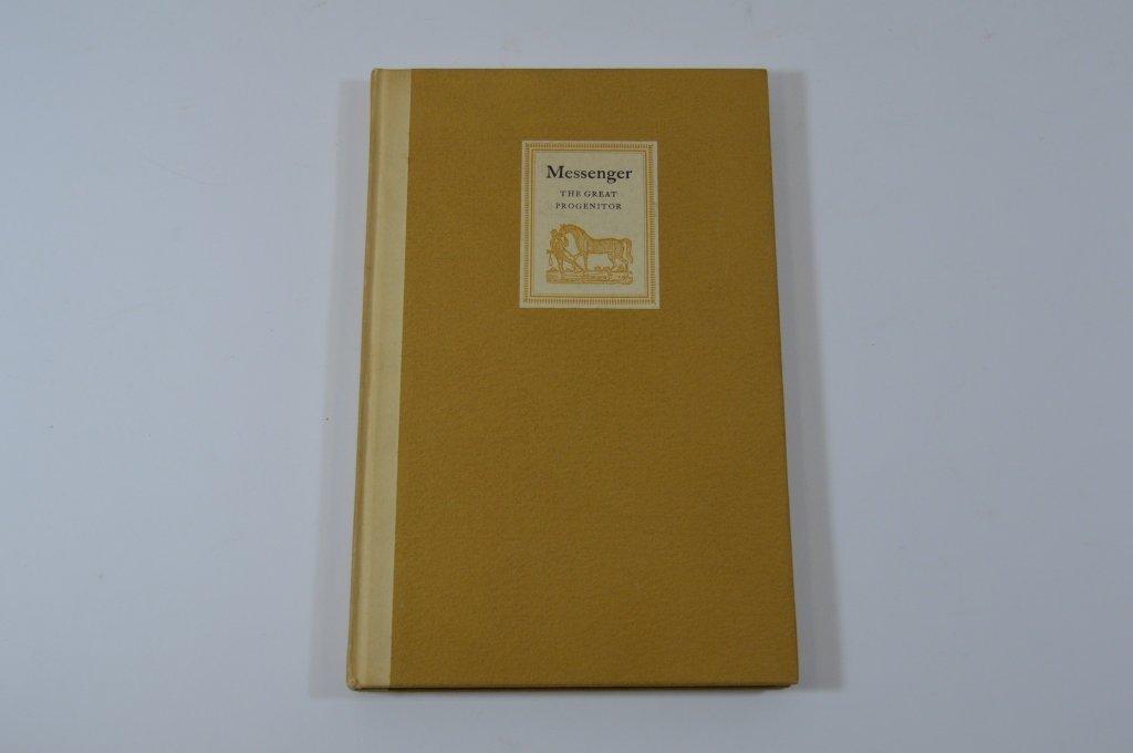 Derrydale Press Book Messenger by John Hervey