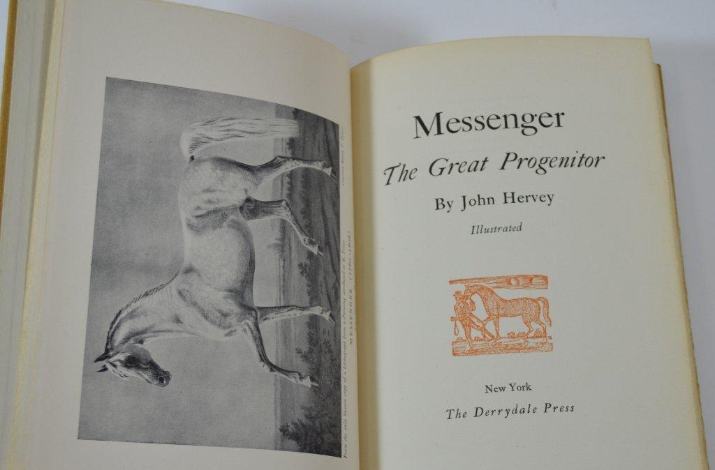 Derrydale Press Book Messenger by John Hervey - 2