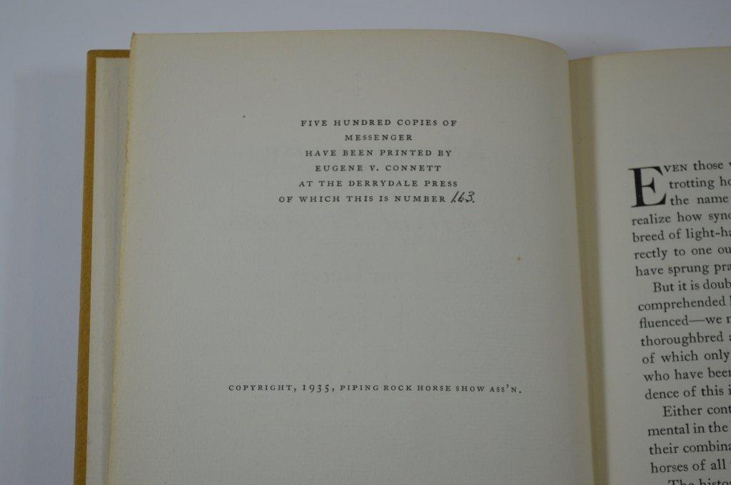 Derrydale Press Book Messenger by John Hervey - 3