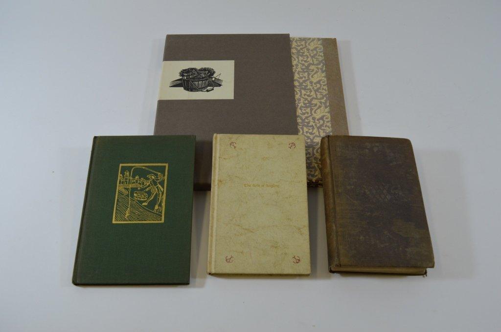 4 Hardcover Fishing Books
