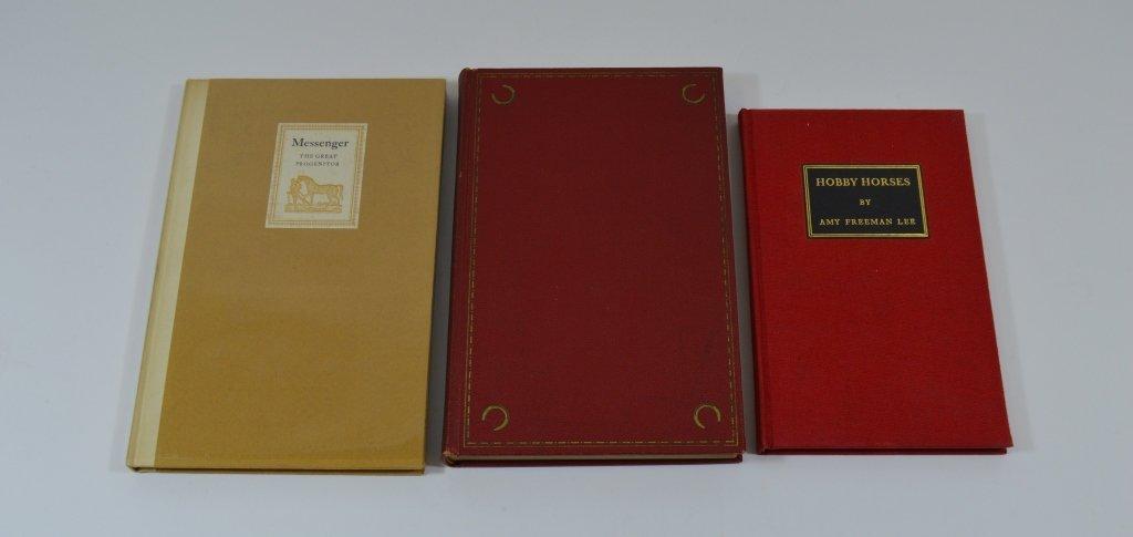 3 Derrydale Press Horse Books
