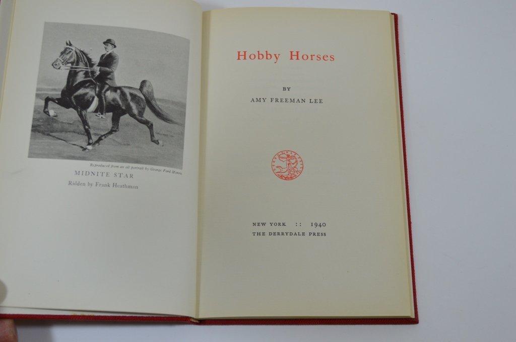 3 Derrydale Press Horse Books - 3