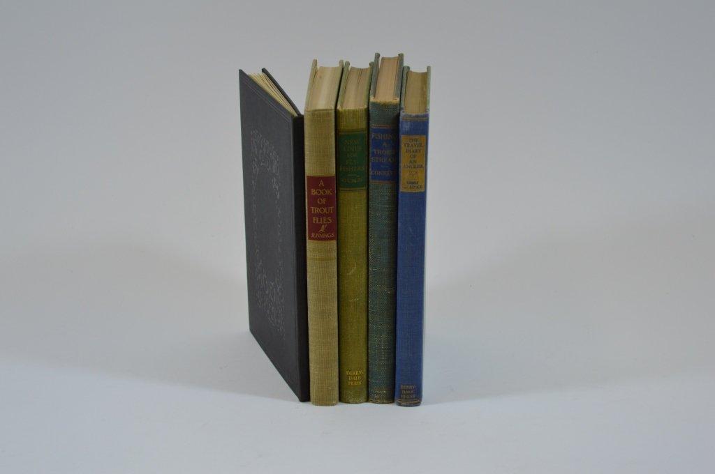 5 Derrydale Press Fishing Books