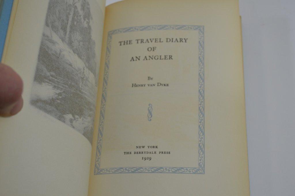5 Derrydale Press Fishing Books - 2