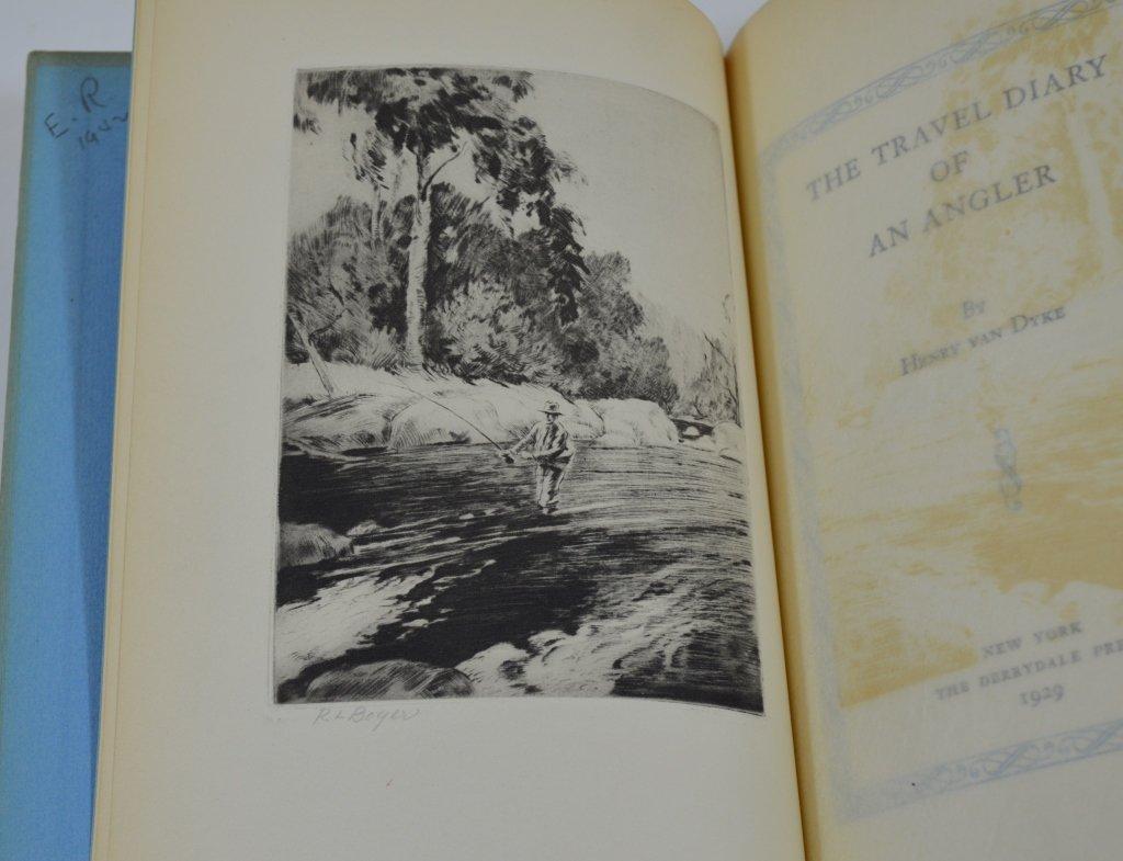 5 Derrydale Press Fishing Books - 3