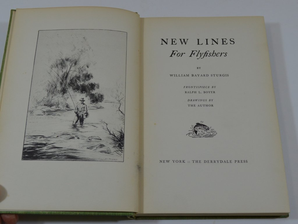 5 Derrydale Press Fishing Books - 5