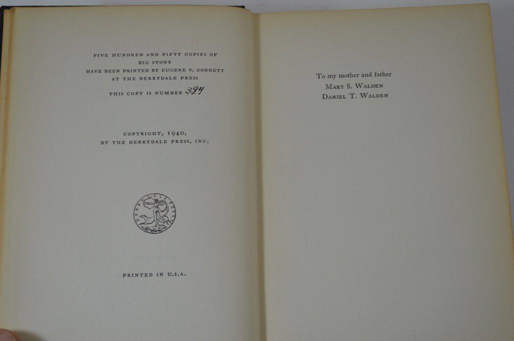 Derrydale Press Big Stony by Howard T. Walden II - 3