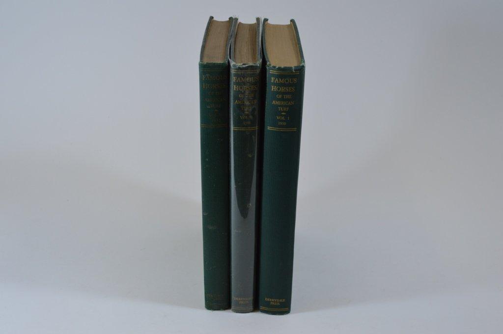 Derrydale Press Famous Horses Vol 1-3