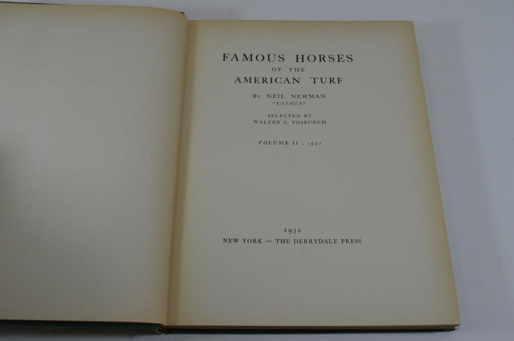 Derrydale Press Famous Horses Vol 1-3 - 3