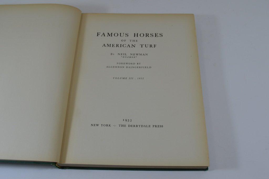 Derrydale Press Famous Horses Vol 1-3 - 4