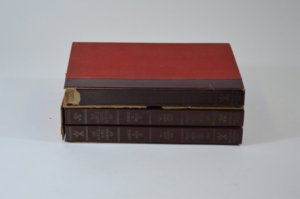 3 Derrydale Press The Gentleman's Companion Books
