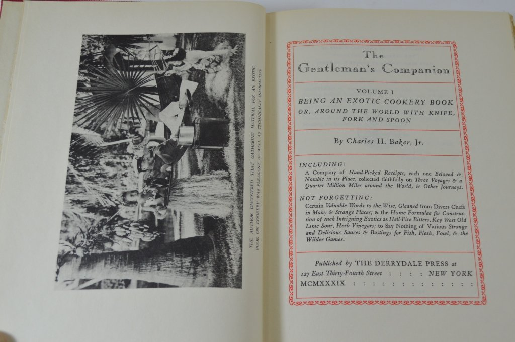 3 Derrydale Press The Gentleman's Companion Books - 2