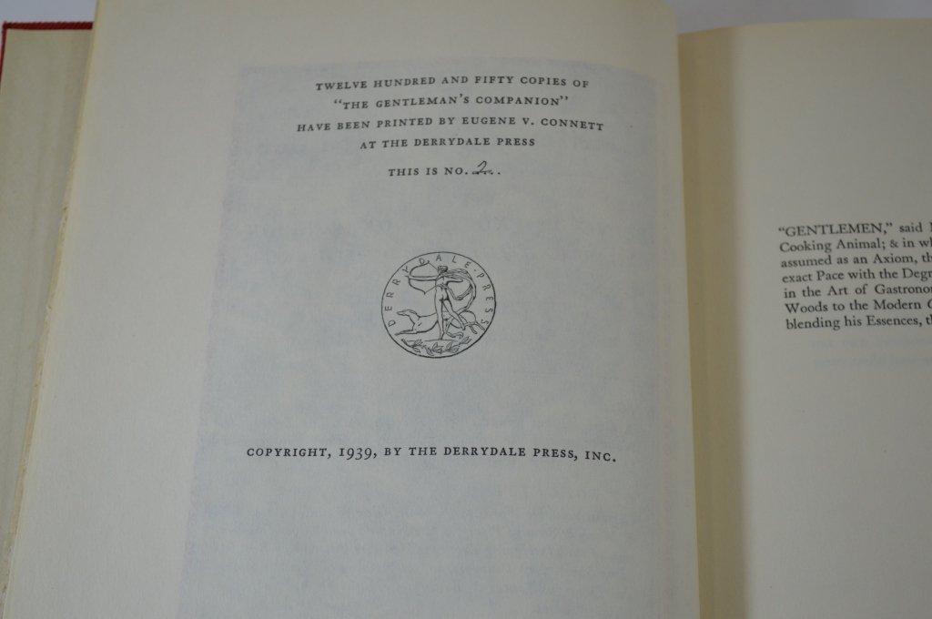 3 Derrydale Press The Gentleman's Companion Books - 3