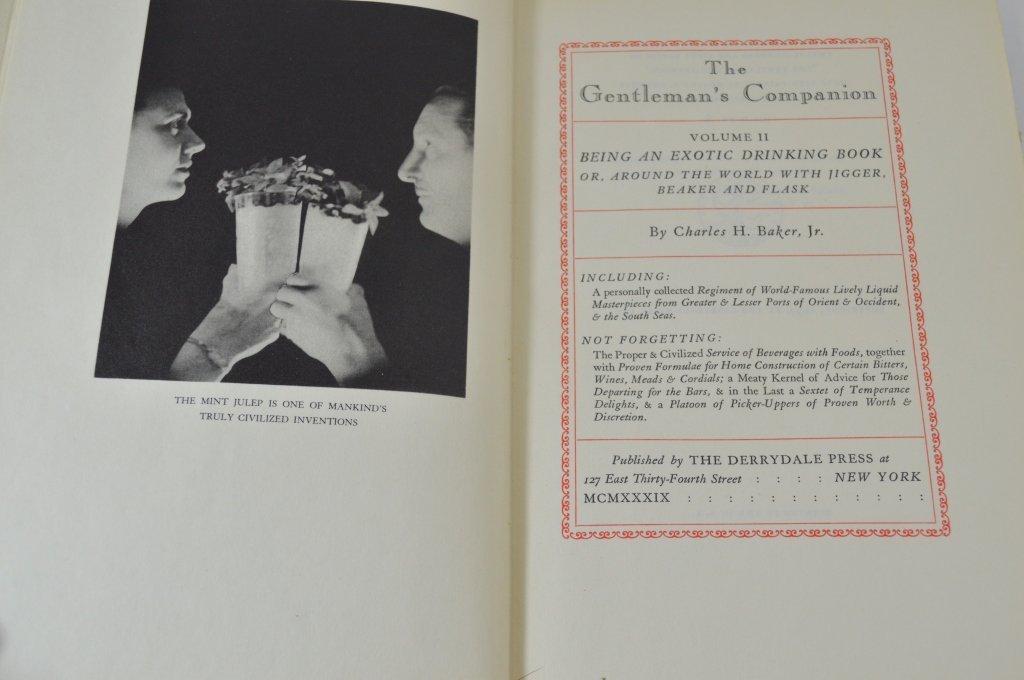 3 Derrydale Press The Gentleman's Companion Books - 4