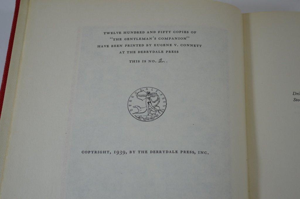3 Derrydale Press The Gentleman's Companion Books - 5