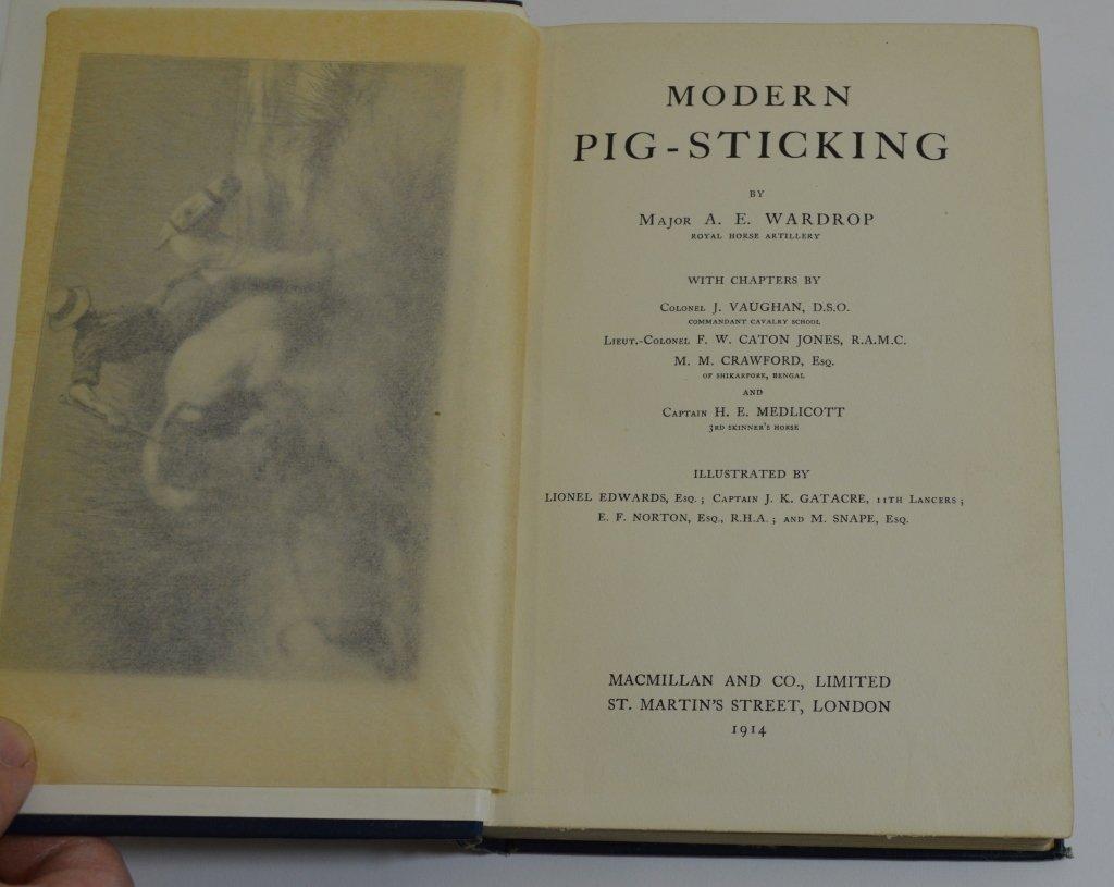 4 Hardcover Sporting Books - 2