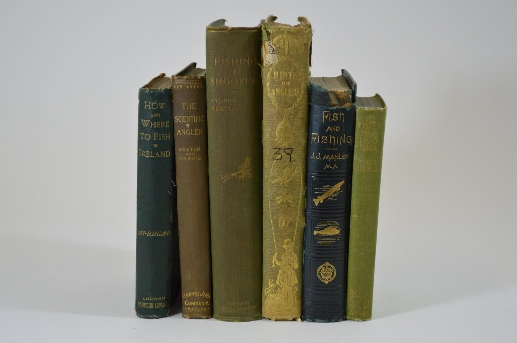 6 Early Hunting and Fishing Books