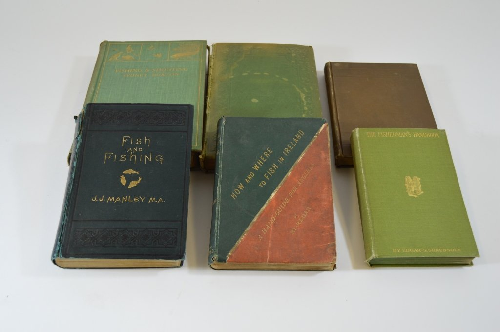6 Early Hunting and Fishing Books - 2