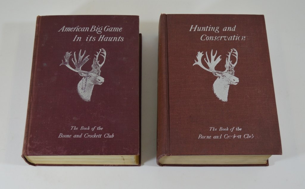 2 Boone and Crockett Club Books