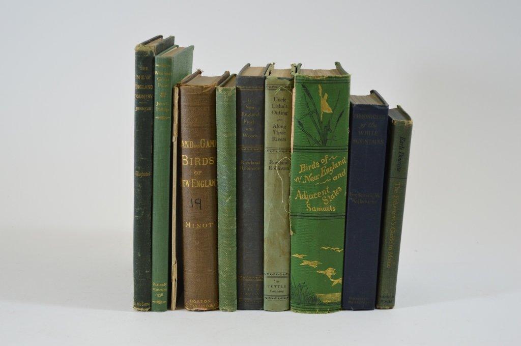 9 Bird and Fishing Books