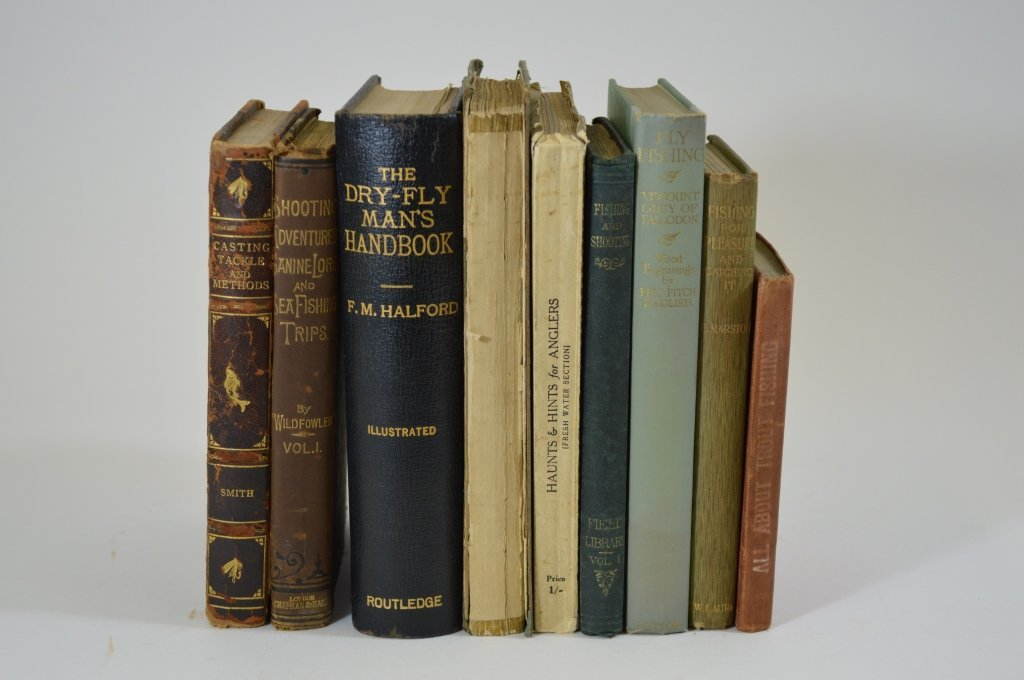 9 Early Fishing Books