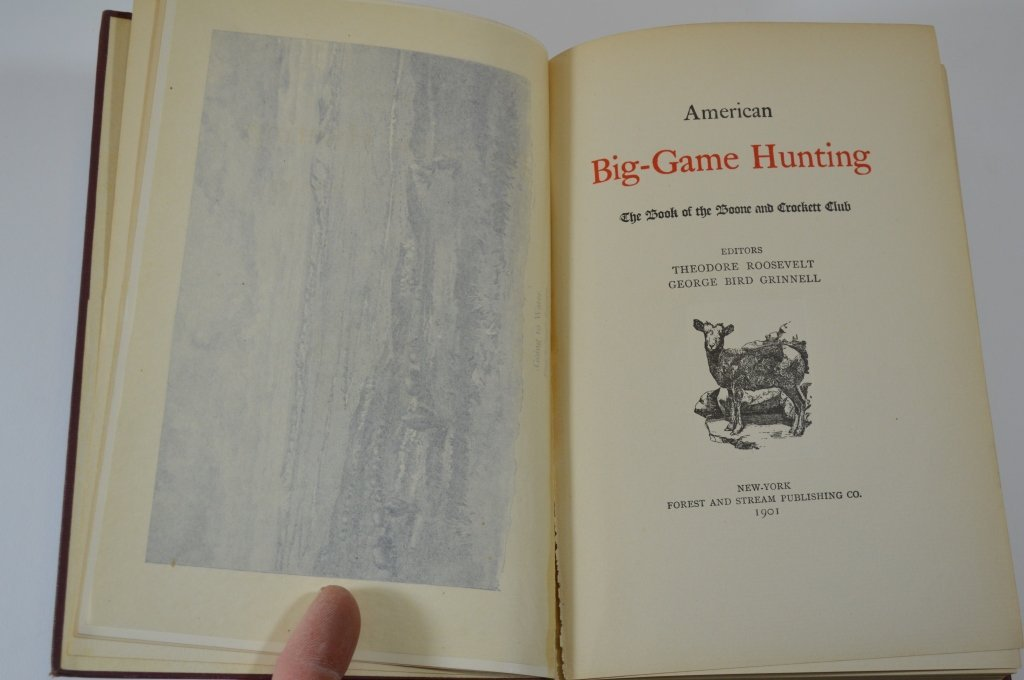 3 Boone and Crockett Club Books - 2