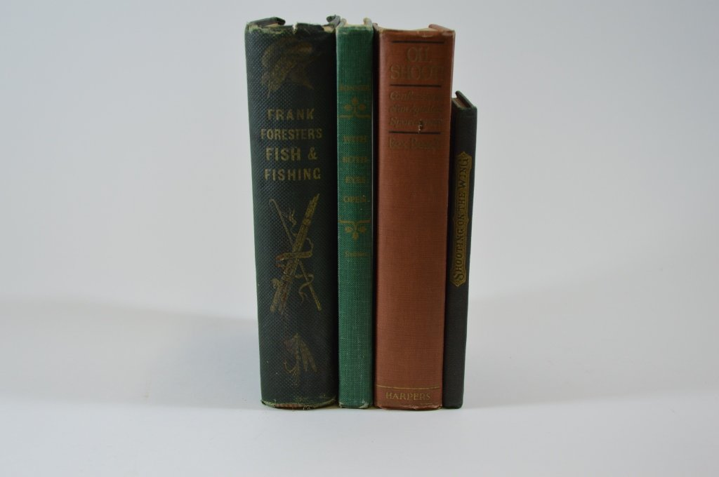 4 Hardcover Shooting and Hardcover Books