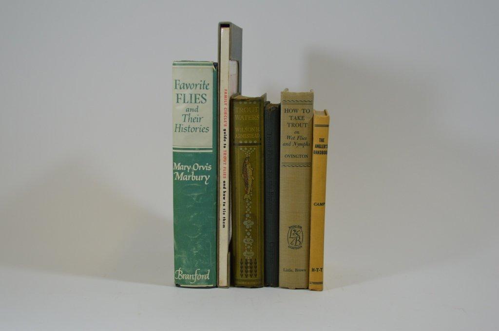 6 Early Fishing Books