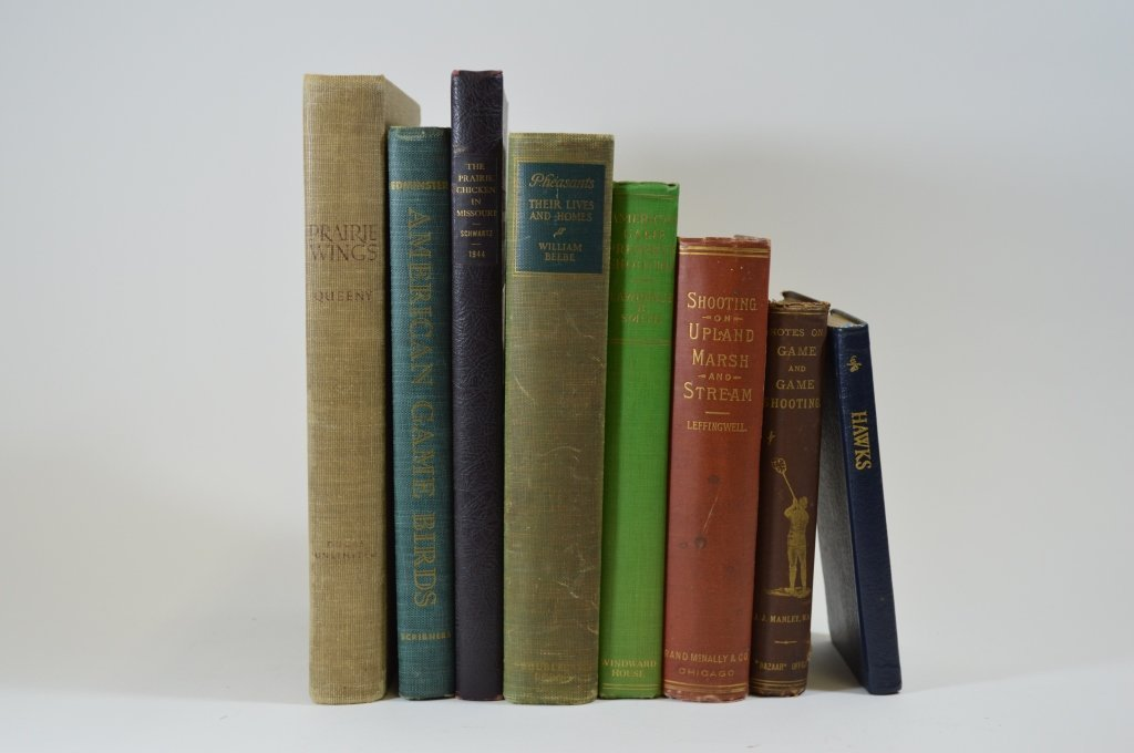 8 Books on Game Birds and Hunting