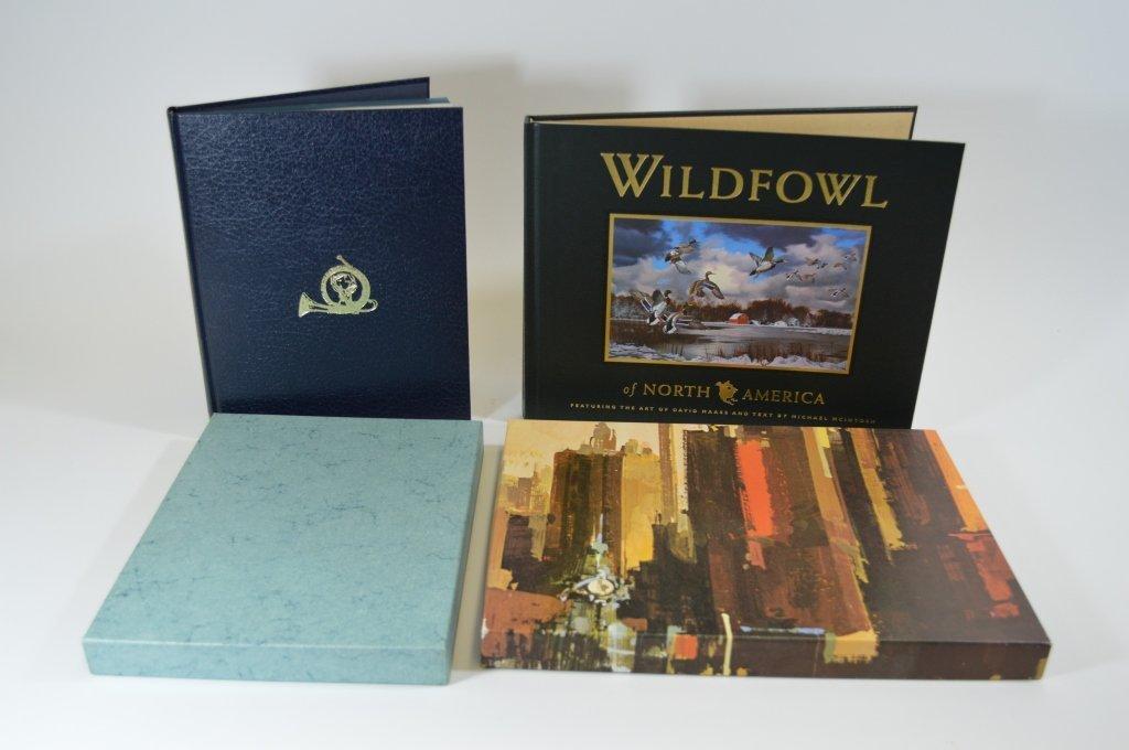 2 Modern Hardcover Waterfowl Books