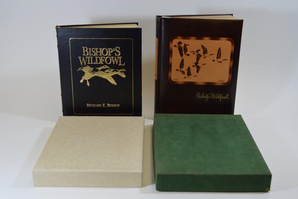 2 Modern Bishop's Wildfowl Hardcover Books