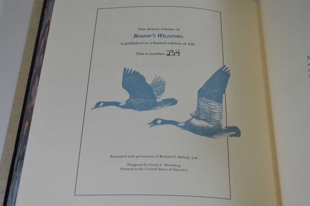 2 Modern Bishop's Wildfowl Hardcover Books - 2