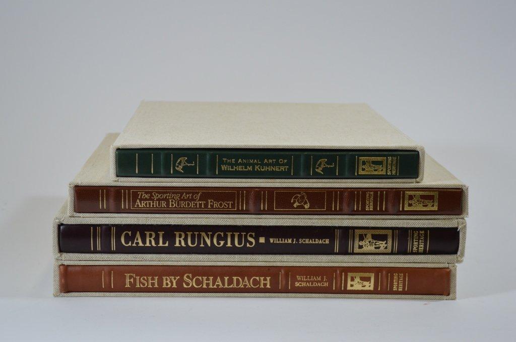 4 Modern Hardcover Sporting Books