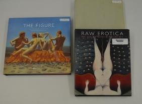 3 Hardcover Art Books