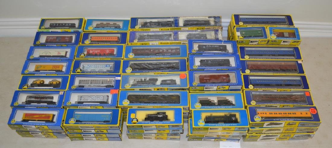 138 AHM Boxed HO Model Trains