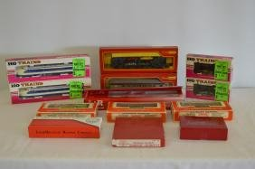 13 HO Model Train Collection - Various Makers